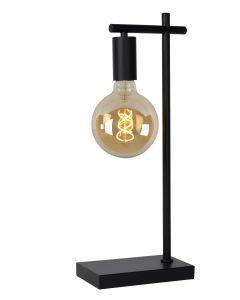 LEANNE Tafellamp 1xE27 Zwart