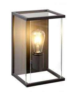 CLAIRE Wandlamp Buiten 1xE27 IP54 Antraciet