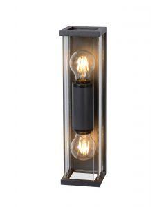 CLAIRE MINI Wandlamp Buiten 2xE27 IP54 Antraciet