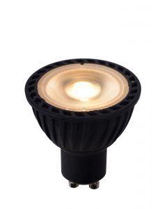 LED BULB Ø 5 cm Dim to warm GU10 1x5W 2200K/3000K Zwart