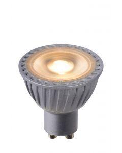 LED BULB Ø 5 cm Dim to warm GU10 1x5W 2200K/3000K Grijs