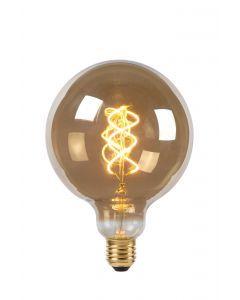 LED Bulb Filament Ø 12,5 cm LED Dimb. E27 1x5W 2200K Fumé