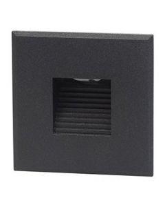 Cover vierkant met rechthoekig gat t.b.v. BW0010 Zwart